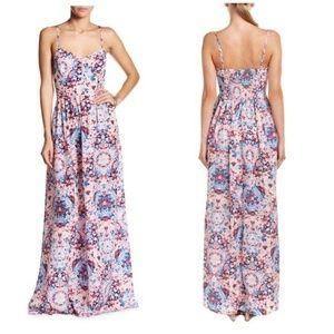 PARKER 'Verona' Maxi Dress Viola Floral Print